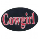 HITCH COVER -COWGIRL