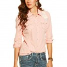Ladies Ariat Wicker Fitted Snap Shirt