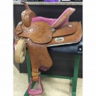"Used 15"" Barrel Saddle"