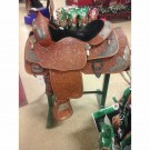 "Used 16"" Billy Cook Pleasure Show Saddle"