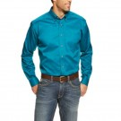 Men's Ariat Solid Blue River Shirt