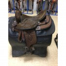 "Used 17"" Big Horn Synthetic Saddle"