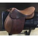 "Used 17"" Intrepid Close Contact Saddle"