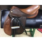"Used 17"" Exselle Gold Close Contact Saddle"