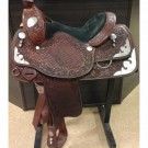 "Used 16"" Allen Ranch Saddle Shop"