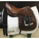 "Used 16"" Crosby Close Contact Saddle"