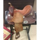 "Used 14"" Circle G Barrel Saddle"