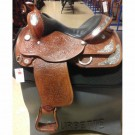 "Used 15.5"" Circle Y Equitation Show Saddle"