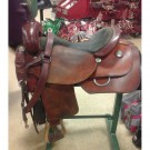 "Used 18"" Dale Chavez Cutting Saddle"