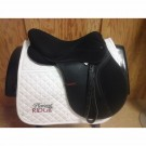"Used 17"" Thorowgood Synthetic All Purpose Saddle"