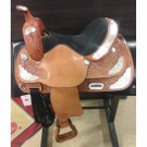 "14"" Used Tex Tan Western Show Saddle"