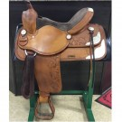 """Used 16"""" Western Saddle with Silver"""