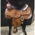 """Used 15"""" Billy Cook Show Saddle"""