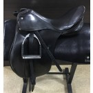 "Used 17.5"" Passier PS Baum Dressage Saddle"