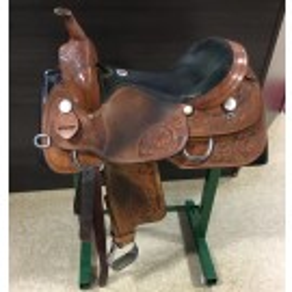 """Used 17"""" Rocking R Saddlery All Around Saddle"""
