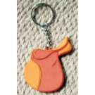 Keychain English Saddle Rubber