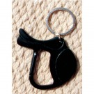 English Saddle Keychain
