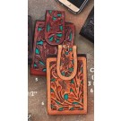 Austin Accents Tooled Cell Phone Case