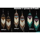 Austin Accents Beaded Quill Earrings