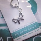 MBC Bridle Charm -Sterling Bow