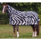 Bucas Buzz-Off Zebra Full Neck Sheet