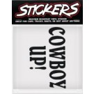 Can Pro Cowboy Up Sticker