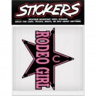 Can-Pro Rodeo Girl Bumper Sticker