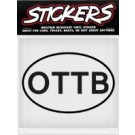 Can Pro OTTB Bumper Sticker