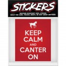 Can-Pro Keep Calm Bumper Sticker
