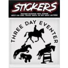 Can Pro 3 Day Eventer Bumper Sticker
