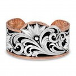 Montana Silversmith Floral Bracelet