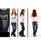 Girls Rock N Roll Cowgirl Jeans Style 9531