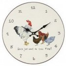 """Girls Just Want To Have Fun"" Wall Clock"