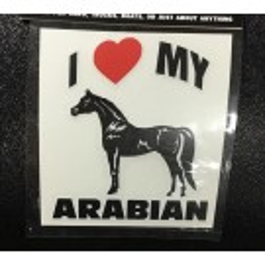 Can-Pro I Love My Arabian Sticker