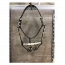 Silver Alamo Scalloped Show Halter with Lead Shank