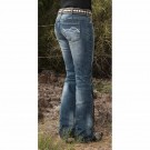 Cowgirl Tuff Jeans -Don't Fence Me In