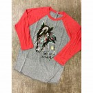 Coyote Cowgirl Tame as a Mustang T-Shirt