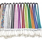 Multi-coloured Bling Lanyards