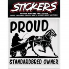 Can-Pro Proud Standardbred Owner Bumper Sticker