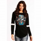 Ladies Rock and Roll Baseball Longsleeve