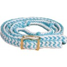 Braided Barrel Reins - Sale Colours