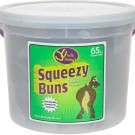 Uncle Jimmy's Squeezy Buns -60 pieces