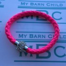 My Barn Child Woven Bling  Hot Pink
