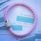 My Barn Child Woven Bling  Light Pink