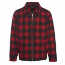 Woolrich Men's Wool Corvair Buffalo Check Jacket