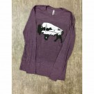 Coyote Cowgirl Graphic Buffalo T-Shirt