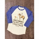 "Coyote Cowgirl "" Calves Togeather"" Shirt"